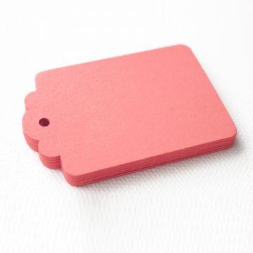 Etiquettes Décoration Unies - Nombreuses Couleurs (25 pièces)