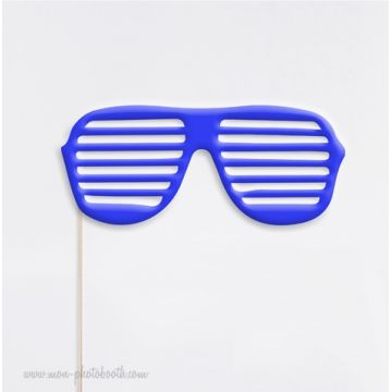 Lunettes Fun - Kanye West Style Photobooth Accessoire