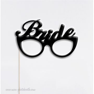 Bride Glasses Chic Wedding Photobooth Accessoire
