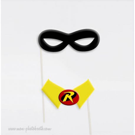 Super héros Photobooth Accessoires 7