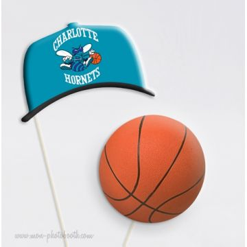 Basketball Equipes USA Photobooth Accessoire