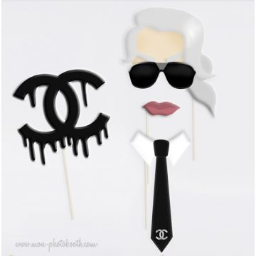 Karl Lagerfeld Photobooth Accessoires