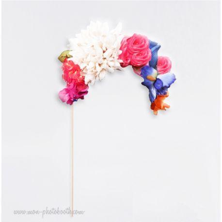 Couronne de Fleurs Photobooth Accessoire