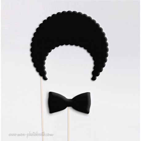 Afro Style Old School Photobooth Accessoires