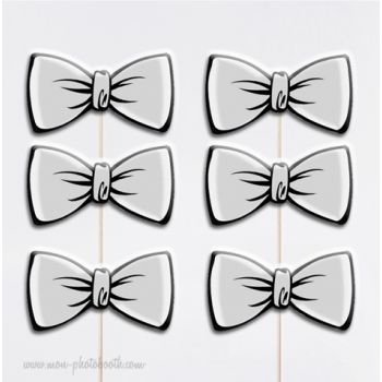 noeuds papillons chic photobooth accessoires mon photobooth carr couture