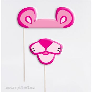 Panth re rose photobooth accessoires mon photobooth - Rosier panthere rose ...