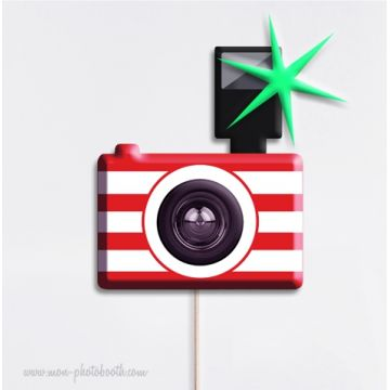 Appareil Photo - Taille Enfant - Photobooth Accessoire