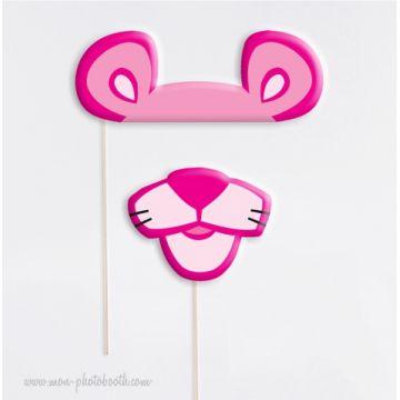 Panthère Rose - Taille Enfant - Photobooth Accessoires