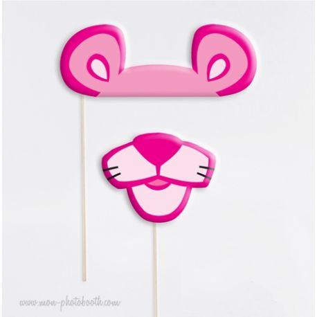 Panth re rose taille enfant photobooth accessoires - Dessin anime de la panthere rose et ses amis ...
