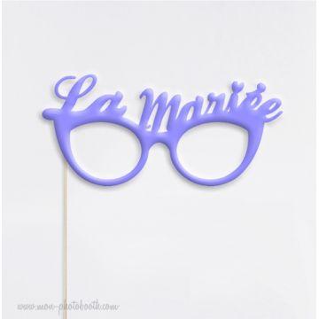 Lunettes Mariée - Pastel Photobooth