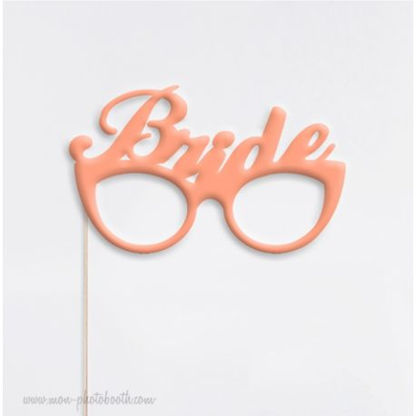 Bride Glasses Sweet Wedding Photobooth