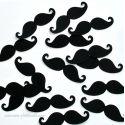 Maxi Party Confettis Moustaches (50 pièces)