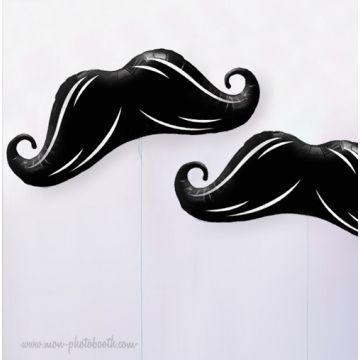 Maxi Ballon Moustache Mylar