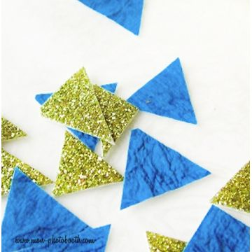 Confettis de Table Triangles Design Paillettes 3 (80 pièces)