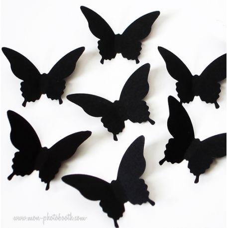 Confettis de Table Papillons Chic (80 pièces)
