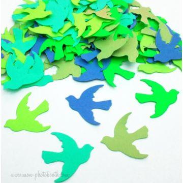 Confettis de Table Oiseaux Neon 2 (100 pièces)