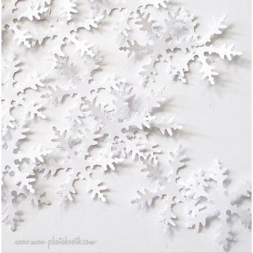 Confettis de Table Flocons de Neige (80 pièces)