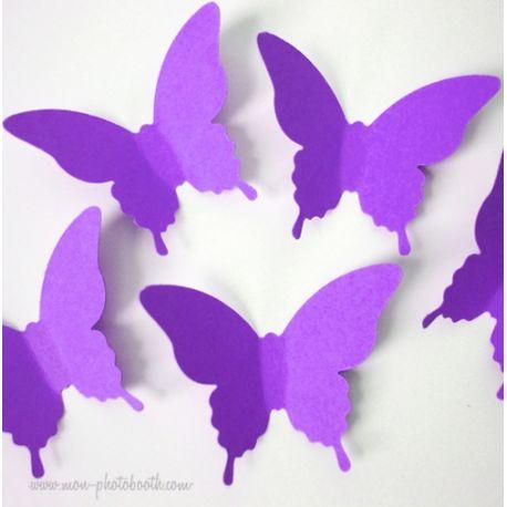 Confettis Papillons de Table (80 pièces)
