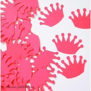 Confettis de Table Couronne de Princesse (100 pièces)