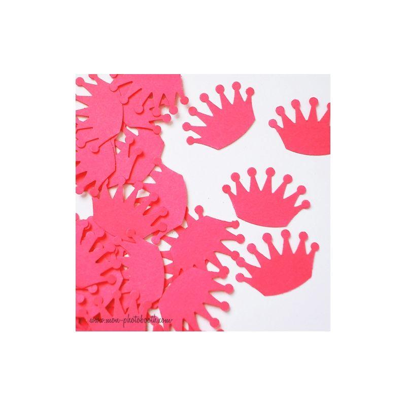 Confettis de table couronne de princesse 100 pi ces - Couronne princesse a decorer ...