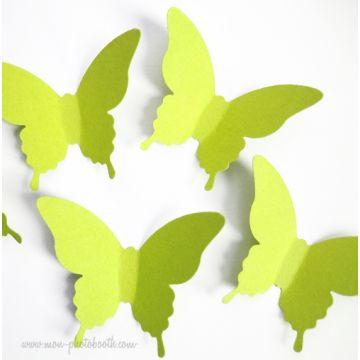 Confettis Papillons de Table 2 (80 pièces)