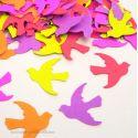 Confettis de Table Oiseaux Neon Colors (100 pièces)