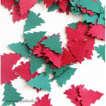Confettis de Table Sapins de Noel (80 pièces)