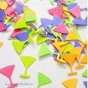 Confettis de Table Cocktails Party Neon (100 pièces)