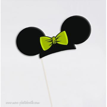 Oreilles Souris Fille - Taille Enfant - Photobooth Accessoire