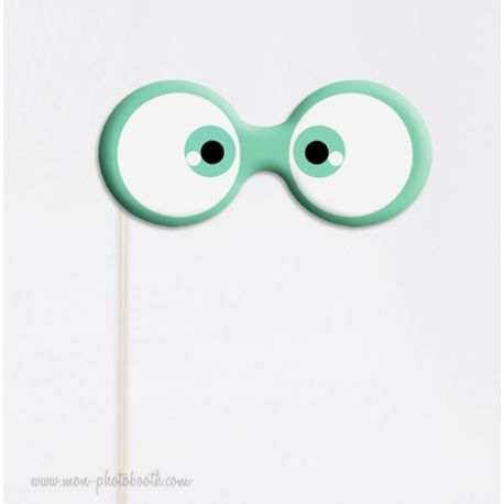 Yeux Style Cartoon - Taille Enfant - Photobooth Accessoire