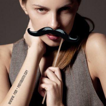 5 MAXI Moustaches Photobooth Accessoires