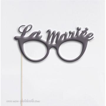 Lunettes Mariée Chic Photo Booth Accessoire