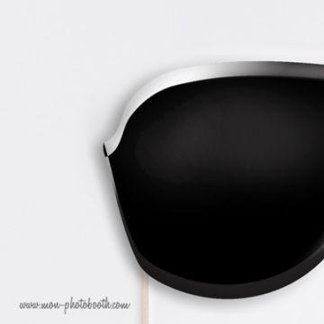 Lunettes Men In Black Photobooth Accessoire