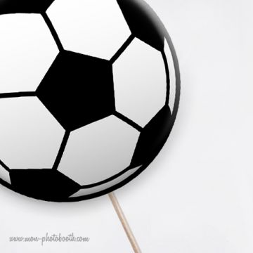 3 Ballons Basket Rugby Football Photobooth