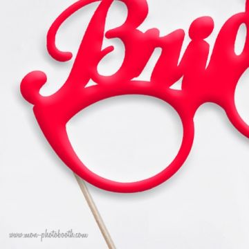 Bride & Groom Fun Mariage Photobooth Accessoires