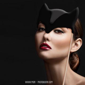 Super héros oreilles de Chat Photobooth Accessoires 4