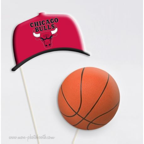 Basketball Equipes USA - Taille Enfant - Photobooth Accessoires