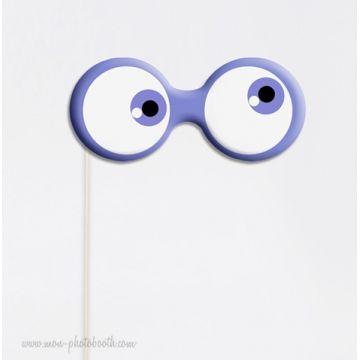 Lot de 3 yeux d'extraterrestres - Taille Enfant- Photobooth Accessoires