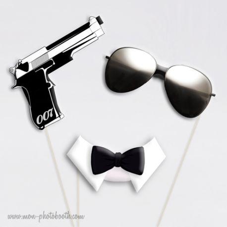 Agent Secret - Taille Enfant - Photobooth Accessoires