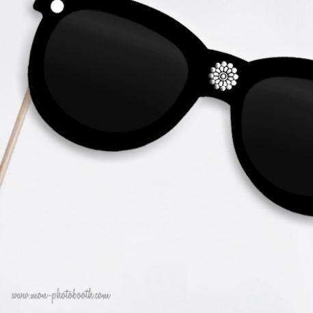 Lunettes de Soleil Haute Couture Photobooth Accessoire