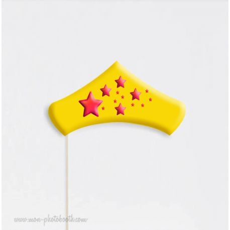 Couronne Super heros Photo Booth Accessoire