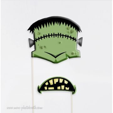 Frankenstein Photo Booth Accessoires