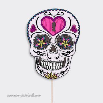 1 Crane Squelette Mexicain- Photobooth Accessoire