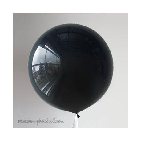 Maxi Ballon Noir (1mètre)