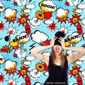 Decor Photobooth Photocall Bulles Comics Super Héros