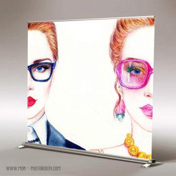 Decor Photobooth Photocall Fashion Beauty