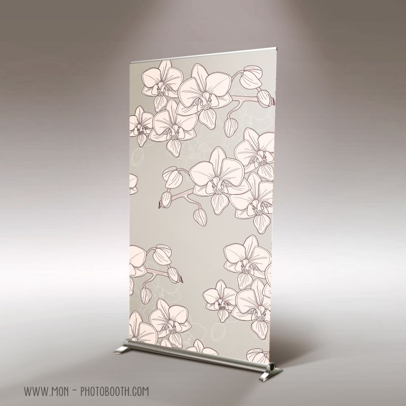 decor photobooth photocall orchid es. Black Bedroom Furniture Sets. Home Design Ideas