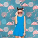 Decor Photobooth Photocall Elegant Flamants Roses