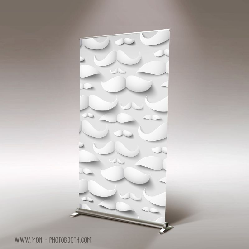 decor photobooth photocall movember moustaches design. Black Bedroom Furniture Sets. Home Design Ideas