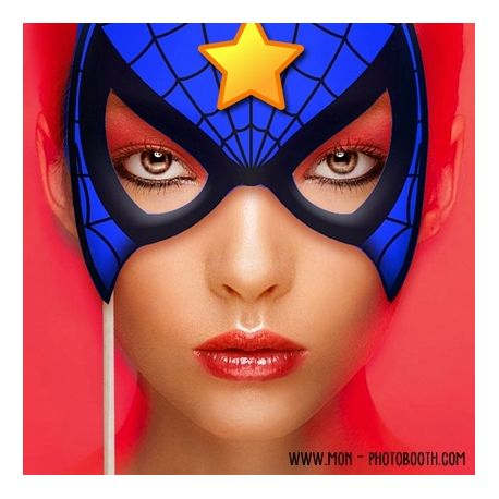 Super héros Photobooth Accessoires 2